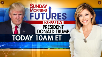 Trump asks 'Where's Durham' on Fox News Maria 11/29