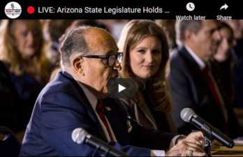 LIVE: Trump's Legal Team Joins Hearing on Voter Fraud in AZ 11/30