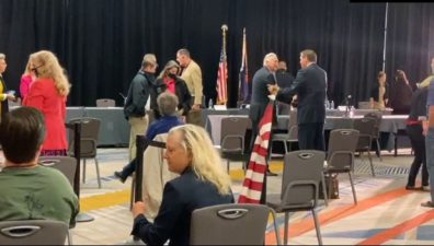 Trump's legal team holding a public hearing in Phoenix on the evidence of election fraud