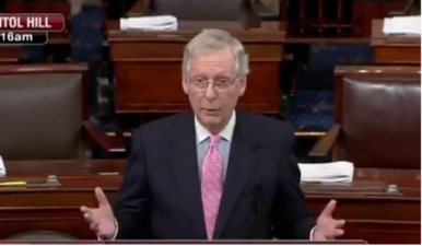 McCONNELL: 'Dems Did Not Pick-Up Seats' in 2020, 'They Have Not Gained Leverage, They Lost Leverage'