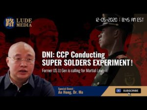 Lude Media: 12/05/2020 'China Has Been Conducting 'Super-Soldier' Experiments Says Ratcliffe