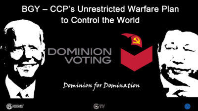 BGY – CCP's Unrestricted Warfare Plan to Control the World (13) — Dominion for domination