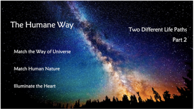 Two Different Life Paths – Part 2