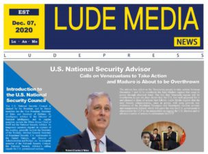 Lude Daily Briefing Morning Edition 2020.12.07 – NewYork Time
