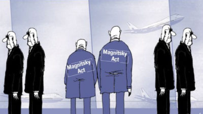 China attacked Australia for considering the Magnitsky Act