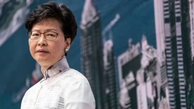 [News Ahead] Sanction on Carrie Lam from Japan Administration