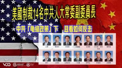 "U.S. Sanctions 14 members of the Vice Chairperson of the Standing Committee of the National People's Congress (NPCSC) under the CCP's "" Tortoise Policy"" ( The metaphor is timid and afraid to come forward)  and see how to fight back"