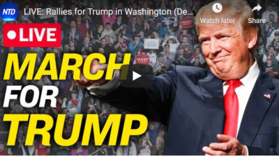 LIVE:DC Rallies for Trump,Election Integrity 12/12
