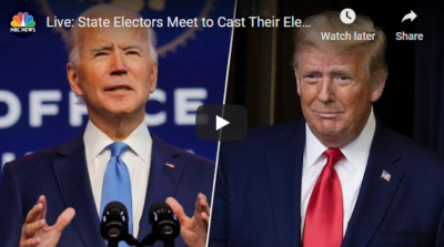 LIVE:Electoral College Meets to Vote for President 12/14