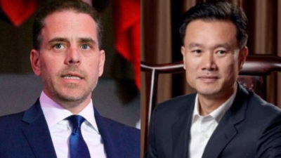 """HardDriveGate"": Hunter Biden Sent Best Wishes From 'Entire Biden Family' in 2017 Email to Chinese Energy Magnate Requesting $10 Million Wire"