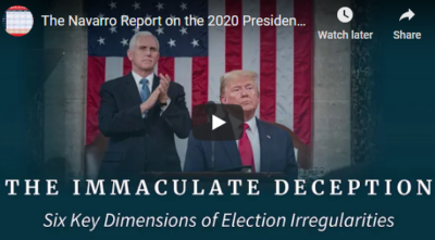 Navarro Report on Presidential Election 12/17