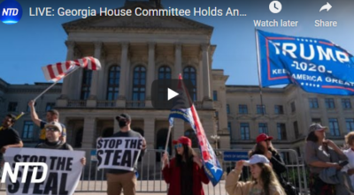LIVE:GA House Hearing Election Fraud 12/23