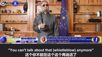 4/19/2021 Miles Guo @4th Anniversary of April 19 Incident (Part I): The Whistleblowers' Movement Tells the Truth and Have Revealed All the Fake, Ugly, and Evil