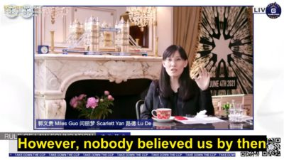 【NFSC 1-Year Anniversary】Dr. Li-Meng Yan: Truth of the Pandemic Has Finally Been Disclosed With the Help of Our Friends and Allies