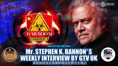 GTV UK Weekly Interview With Mr. Bannon (05 May, 2021)