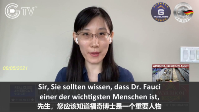 A large amount of funds granted by Dr. Fauci go to Chinese labs