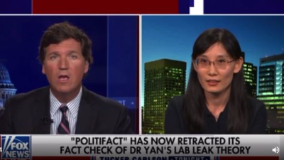 """Dr Yan was interviewed by """"Tucker Show"""""""
