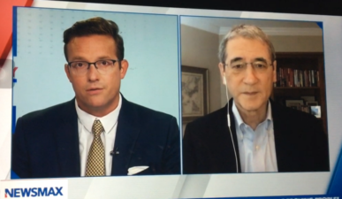 Gordon Chang on Newsmax: the World May Face Another Pandemic if CCP is Not Held Accountable