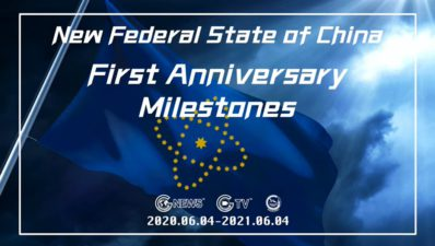 New Federal State of China First Anniversary Milestones