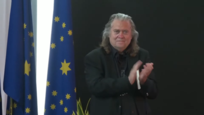 Mr. Bannon's Speech for the 1st Anniversary of the New Federal State of China