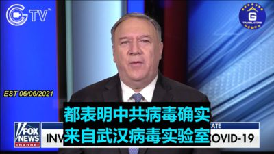 Pompeo: We Should Know Whether the Virus Comes From Gross Negligence in Labs or Intentional Release