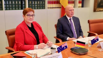 """[Commentary] Germany and Australia Hold """"2+2"""" Talks to Enhance Cooperation in the Indo-Pacific Region and to Counteract the CCP"""