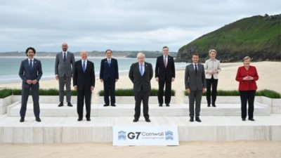 [Headline News] G7 Leaders Attempt to Rival China