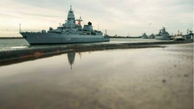 German Warship Heads for South China Sea Amid Tension With Beijing
