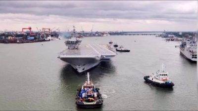 India's First Indigenous Aircraft Carrier, To Be Named INS Vikrant, Finally Begins Sea Trials